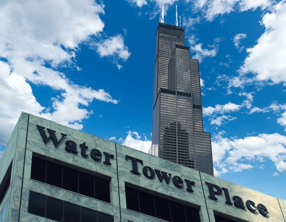 Bill Post Water Tower Place and Sears Tower